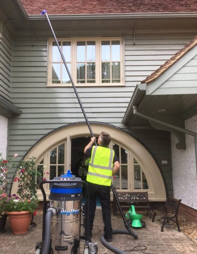 Gutter Cleaning SkyVac